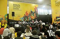 SAO PAULO, SP, 12 DE JULHO 2012 – Bebeto, Evair, Zetti, Neto, Ronaldo e Serginho Chulapa estiveram presentes na abertura do Brazil Sports Show na Bienal do Ibirapuera. O evento, que ja esta em sua segunda edicao, conta com mais de onze feiras tematicas em mais de vinte mil metros quadrados de espaco. E a maior feira da categoria no pais e atrai gente de todo o Brasil para prestigiar os workshops, e aproveitar. Somente hoje, a entrada e gratuita, ate o dia 15, paga-se 20,00 para o acesso. (FOTO: THAIS RIBEIRO / BRAZIL PHOTO PRESS).