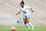 25 October 2015: North Carolina's Maya Worth. The University of North Carolina Tar Heels hosted the Clemson University Tigers at Fetzer Field in Chapel Hill, NC in a 2015 NCAA Division I Women's Soccer game. UNC won the game 1-0.