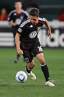 DC United forward Josh Wolff (16)   DC United defeated The Columbus Crew 3-1  at the home season opener, at RFK Stadium, Saturday March 19, 2011.
