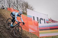 Eli Iserbyt (BEL/Marlux-Bingoal)<br /> <br /> Men&rsquo;s U23 race<br /> <br /> UCI 2019 Cyclocross World Championships<br /> Bogense / Denmark<br /> <br /> &copy;kramon