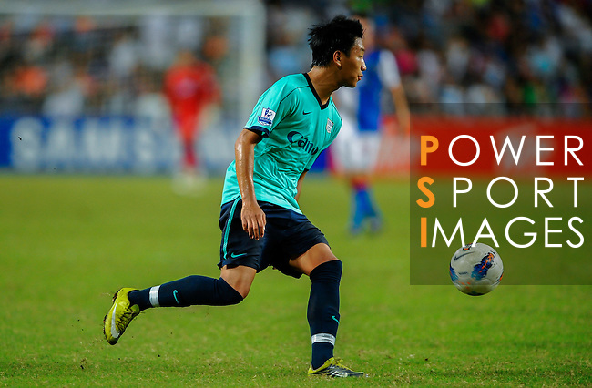 Chan Man Fai of Kitchee FC in action against Blackburn Rovers during the Asia Trophy pre-season friendly match at the Hong Kong Stadium on July 30, 2011 in So Kon Po, Hong Kong. Photo by Victor Fraile / The Power of Sport Images