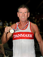 Birmingham, Great Britain,  Men's 55-59 LWT, Gold medallist John BUSK, Copenhagen Fire Bridge,   at the 2008 British Indoor Rowing Championships, National Indoor Arena. on  Sunday 26.10.2008 . [Photo, Peter Spurrier/Intersport-images] .