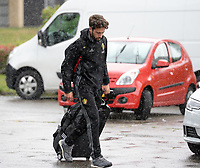 20170725 - TILBURG , NETHERLANDS :  Belgian media officer Brecht Schelstraete pictured going back to Belgium as the Belgian national women's soccer team Red Flames was not able to qualify for the quarter finals after a loss against The Netherlands , on Tuesday 25 July 2017 in Tilburg . The Red Flames finished on 3 th place in Group A at the Women's European Championship 2017 in the Netherlands. PHOTO SPORTPIX.BE | DAVID CATRY