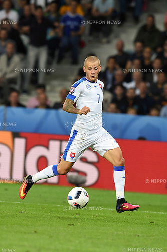 Vladimir Weiss (Slovakia) ; <br /> June 15, 2016 - Football : Uefa Euro France 2016, Group B, Russia 1-2 Slovakia at Stade Pierre Mauroy, Lille Metropole, France.; ;(Photo by aicfoto/AFLO)