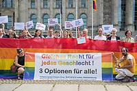 2018/07/05 Politik | Kundgebung 3. Geschlecht