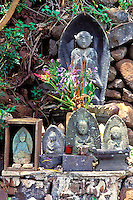 Buddhist shrine at the Lawai International Center, Lawai Valley