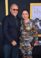 LOS ANGELES, CA. September 24, 2018: Gloria Estefan &amp; Emilio Estefan at the Los Angeles premiere for &quot;A Star Is Born&quot; at the Shrine Auditorium.<br /> Picture: Paul Smith/Featureflash