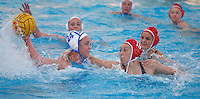 Stanford - February 1, 2015: Rachel Johnson during the Stanford vs UCLA title match of the 2015 Stanford Invitational at Avery Aquatic Center on Sunday afternoon.<br /> <br /> The Cardinal defeated the Bruins 9-5.