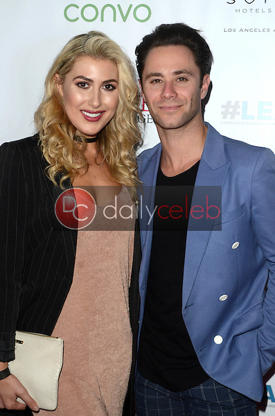 Emma Slater, Sasha Farber<br /> at the Nyle DiMarco Foundation Love &amp; Language Kickoff Campaign 2016, Sofitel Hotel, Beverly Hills, CA 11-29-16<br /> David Edwards/DailyCeleb.com 818-249-4998