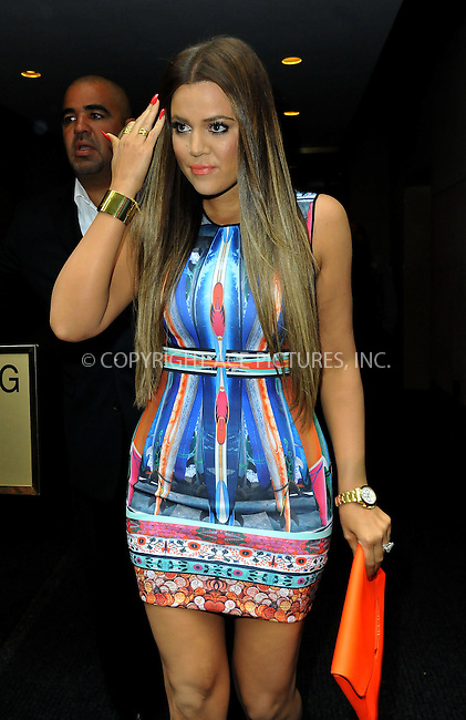 WWW.ACEPIXS.COM......May 29 2013, New York City....Khloe Kardashian leaves the studios of the 'Today Show' on May 29 2013 in New York City......By Line: Romeo/ACE Pictures......ACE Pictures, Inc...tel: 646 769 0430..Email: info@acepixs.com..www.acepixs.com