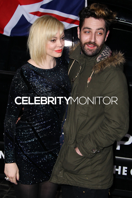 [(FILE) Actress Rose McGowan married artist Davey Detail on October 12, 2013] LOS ANGELES, CA - FEBRUARY 13: Actress Rose McGowan and artist Davey Detail arrive at the Topshop Topman LA Opening Party held at Cecconi's Restaurant on February 13, 2013 in Los Angeles, California. (Photo by Xavier Collin/Celebrity Monitor)