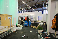 07-02-14, Netherlands, Rotterdam, Ahoy, ABNAMROWTT, Building the VIP area<br /> Photo: Henk Koster