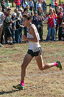Lafayette senior Devin Meyrer runs away with the lead late in the race and goes on to win in 15:25 to lead his Lancers squad to a second straight Class 4 title at the 2015 MSHSAA State Cross Country Championships.