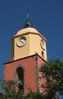 Europe/France/Provence-Alpes-Côte d'Azur/83/Var/Saint-Tropez: Clocher de l'église
