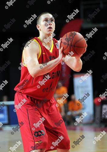 2012-08-21 / Basketbal / seizoen 2012-2013 / Belgian Lions /  Maxime De Zeeuw..Foto: Mpics.be