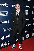www.acepixs.com<br /> May 6, 2017  New York City<br /> <br /> Levi Foster attending arrivals at GLAAD Media Awards on May 6, 2017 in New York City.<br /> <br /> Credit: Kristin Callahan/ACE Pictures<br /> <br /> <br /> Tel: 646 769 0430<br /> Email: info@acepixs.com