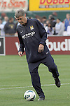 23 May 2013:  Brian Kidd, Assistant Manager for Manchester City.  Chelsea F.C. was defeated by Manchester City 3-4 at Busch Stadium in Saint Louis, Missouri, in a friendly exhibition soccer match.