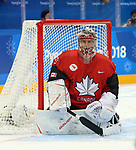 Pyeongchang, Korea, 18/3/2018-Dominic Larocque compete in the gold medal ice game against the USA during the 2018 Paralympic Games. Photo: Scott Grant/Canadian Paralympic Committee.