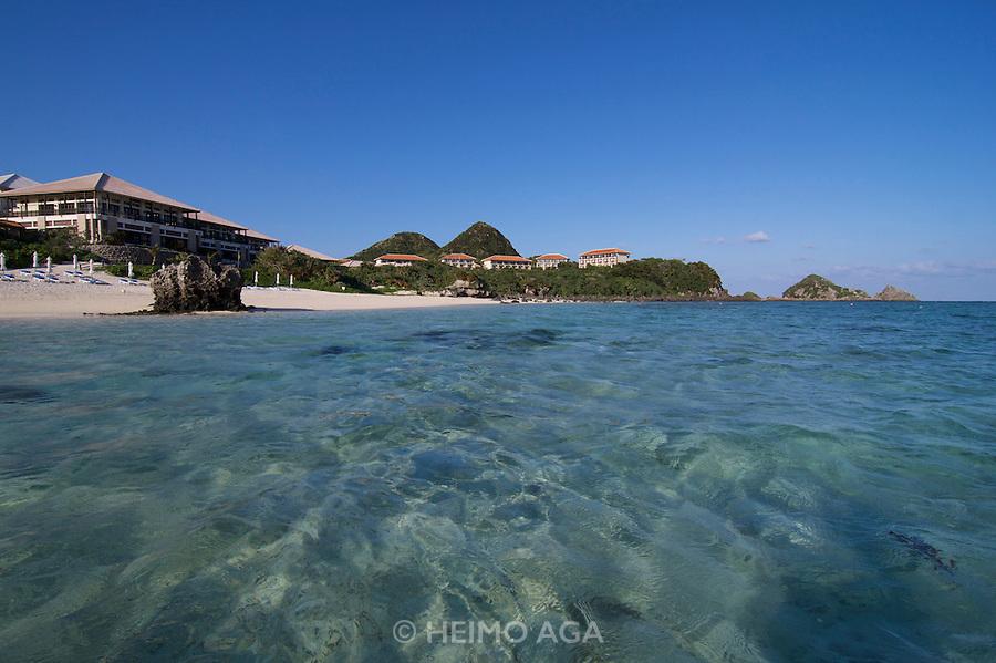 Ishigaki-jima. Club Med Kabira. The beach.