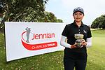 Fiona Xu wins the Charles Tour, Christies Flooring Mt Maunganui Open, Mt Maunganui Golf Club, Tauranga, New Zealand. Sunday 15 December 2019. Photo: Simon Watts/www.bwmedia.co.nz/NZGolf