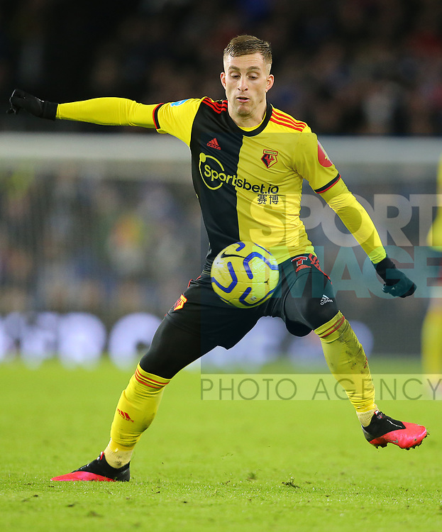 Watford's Gerard Deulofeu during the Premier League match at the American Express Community Stadium, Brighton and Hove. Picture date: 8th February 2020. Picture credit should read: Paul Terry/Sportimage