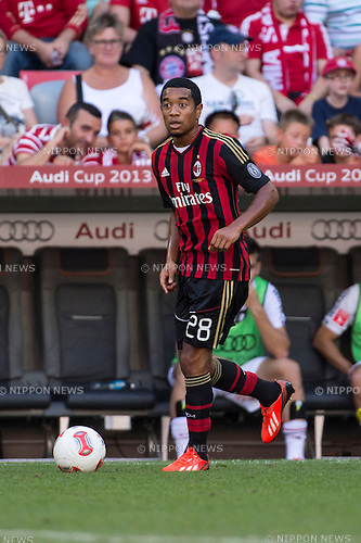Urby Emanuelson (Milan), AUGUST 1, 2013 - Football / Soccer : Audi Cup 2013 match between AC Milan 1-0 Sao Paulo FC at Allianz Arena in Munich, Germany. (Photo by Maurizio Borsari/AFLO) [0855]