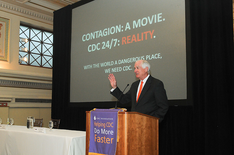 A behind-the-scenes conversation with CDC experts about the science behind the blockbuster movie, Contagion. Photography by Professional Image Photography.