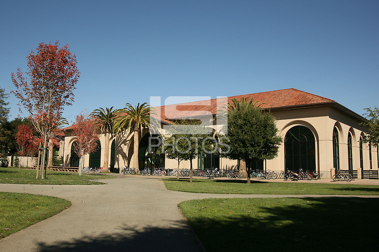 8 October 2006: PE and recreation photographs at Stanford University in Stanford, CA. The Arrillaga Center for Sports and Recreation.