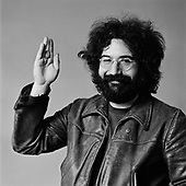 Jerry Garcia, The Grateful Dead 1969. Belvedere St. Studio, San Francisco, CA.<br /> Photo Credit: Baron Wolman\AtlasIcons.com