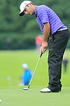Francesco Molinari takes his putt on the 14th green during Day 2 of the 3 Irish Open at the Killarney Golf & Fishing Club, 30th July 2010..(Picture Eoin Clarke/www.golffile.ie)