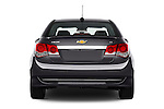 Straight rear view of 2016 Chevrolet Cruze-Limited 2LT-Auto 4 Door Sedan Rear View  stock images