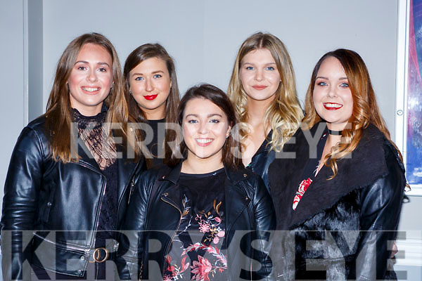 Patrice Delaney, Eileen Fitgerald Abbeyfeale, Aine O'Donnell, Michelle Reidy and Jane Rocke Tempelglantine at the Jenny Greene concert in the INEC on Saturday night