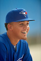 GCL Blue Jays pitcher Roither Hernandez (41) during a game against the GCL Pirates on July 20, 2017 at Bobby Mattick Training Center at Englebert Complex in Dunedin, Florida.  GCL Pirates defeated the GCL Blue Jays 11-6 in eleven innings.  (Mike Janes/Four Seam Images)
