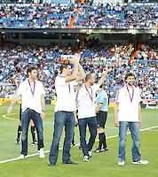 02.09.2012 SPAIN -  La Liga 12/13 Matchday 3th  match played between Real Madrid CF vs  Granada C.F. (3-0) at Santiago Bernabeu stadium. The picture show