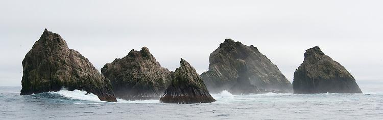 Shag rocks, South Atlantic (South Georgia)