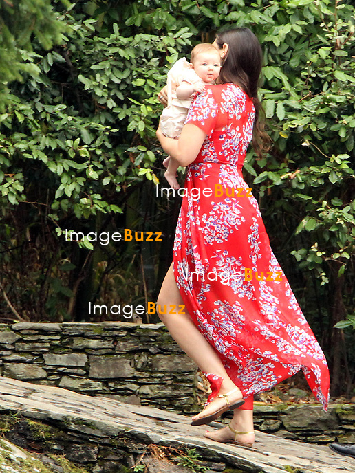 Arrival of the guests of the marriage of Pierre and B&eacute;atrice<br /> <br /> Tatiana Santo Domingo