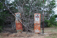 Old Gas Pumps in Gate, OK