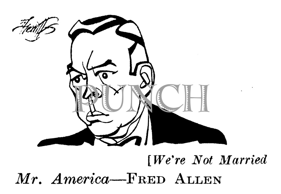 We're Not Married ; Fred Allen