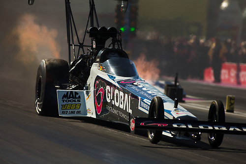 NHRA Mello Yello Drag Racing Series<br /> NHRA Toyota Nationals<br /> The Strip at Las Vegas Motor Speedway<br /> Las Vegas, NV USA<br /> Sunday 29 October 2017 <br /> Shawn Langdon, Global Electronic Technology, Top Fuel Dragster<br /> World Copyright: Jason Zindroski<br /> Jason Zindroski / HighRev Photo