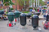 Barbecue rib cooking contest.