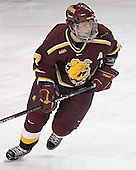 Greg Rallo - The Boston College Eagles and Ferris State Bulldogs tied at 3 in the opening game of the Denver Cup on Friday, December 30, 2005, at Magness Arena in Denver, Colorado.  Boston College won the shootout to determine which team would advance to the Final.