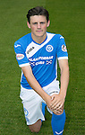 St Johnstone FC photocall Season 2016-17<br />George Hunter<br />Picture by Graeme Hart.<br />Copyright Perthshire Picture Agency<br />Tel: 01738 623350  Mobile: 07990 594431