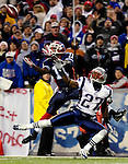 18 November 2007: Buffalo Bills wide receiver Roscoe Parrish pulls in a touchdown pass against the New England Patriots at Ralph Wilson Stadium in Orchard Park, NY. The Patriots defeated the Bills 56-10 in their second meeting of the season...Mandatory Photo Credit: Ed Wolfstein Photo