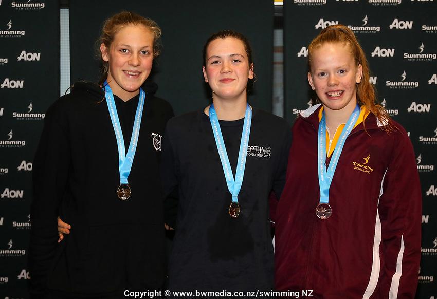 Swimming New Zealand Aon National Age Group Championships, Wellington Regional Aquatic Centre, Wellington, New Zealand, Friday 19 April 2019. Photo: Simon Watts/www.bwmedia.co.nz