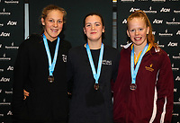 Swimming New Zealand Aon National Age Group Championships, Wellington Regional Aquatic Centre, Wellington, New Zealand, Friday 19 April 2019. Photo: Simon Watts/www.bwmedia.co.nz
