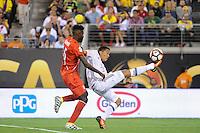 East Rutherford, NJ - Friday June 17, 2016: Peru (PER) vs Colombia (COL) after a Copa America Centenario quarterfinal match between Peru (PER) vs Colombia (COL) at MetLife Stadium.