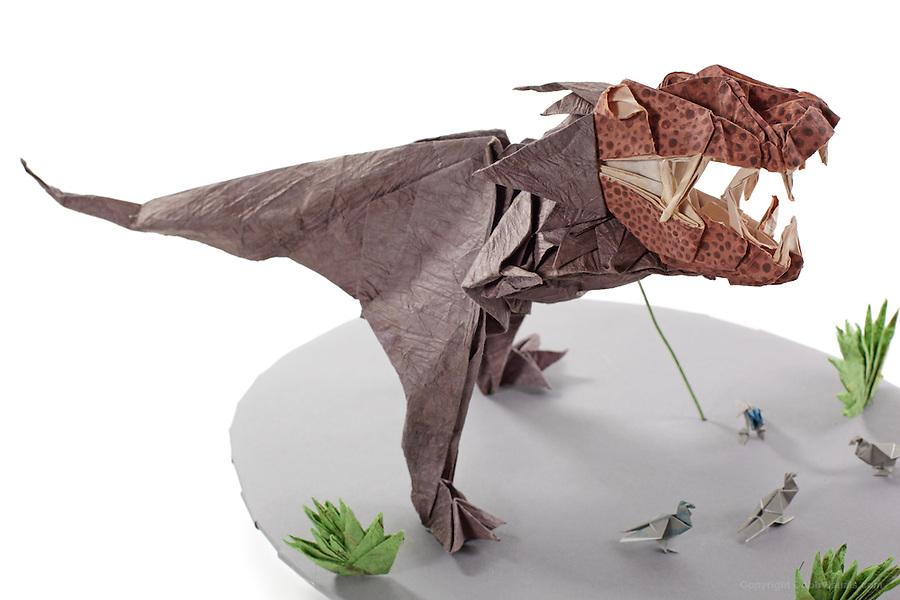 2 piece 3D T-Rex | TARDIS of the mind | 600x900