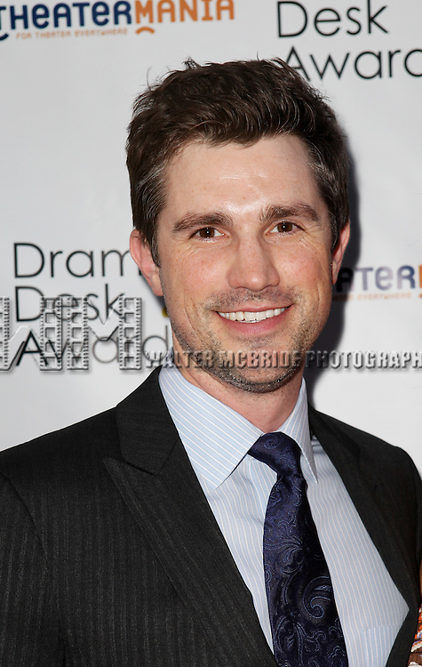 Matt Cavenaugh pictured at the 57th Annual Drama Desk Awards held at the The Town Hall in New York City, NY on June 3, 2012. © Walter McBride