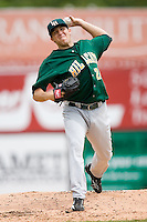 Starting pitcher Daniel Moskos (24) of the Lynchburg Hillcats in action versus the Winston-Salem Warthogs at Ernie Shore Field in Winston-Salem, NC, Wednesday May 14, 2008.
