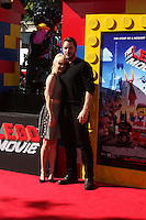 """LOS ANGELES - FEB 1:  Anna Faris, Chris Pratt at the """"Lego Movie"""" Premiere at Village Theater on February 1, 2014 in Westwood, CA"""